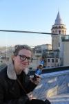 Rooftop Bar in Turkey, Galata tower