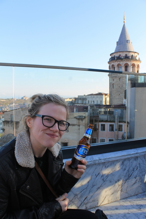 Robin- Rooftop bar Amazing views over Galata tower and a perfect way to end the day.