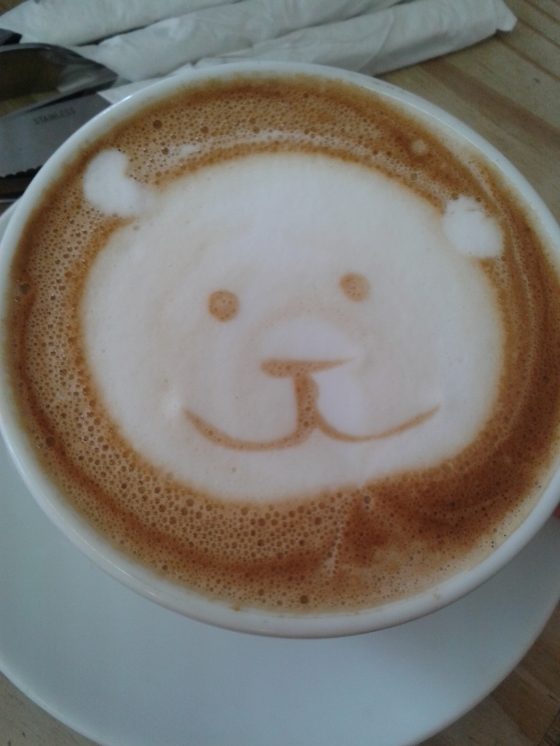 A cappuccino you just didn't want to ruin