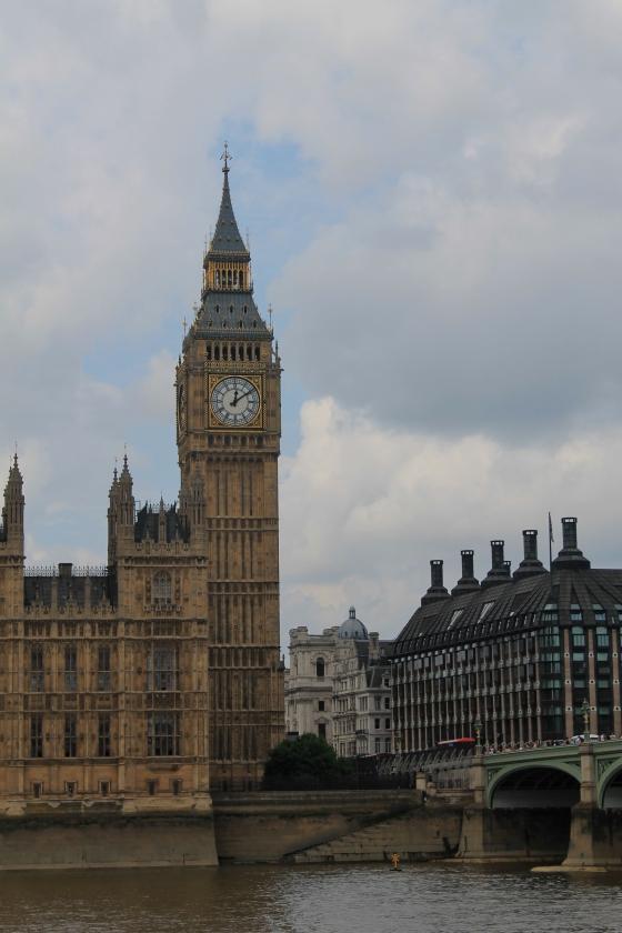 Big Ben, South Bank, Westminster, London