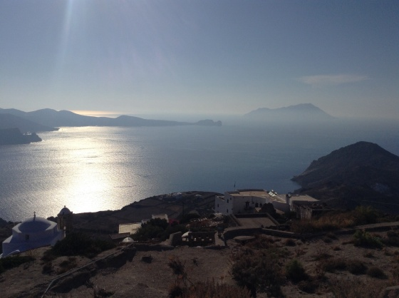 View from the castle in Plaka