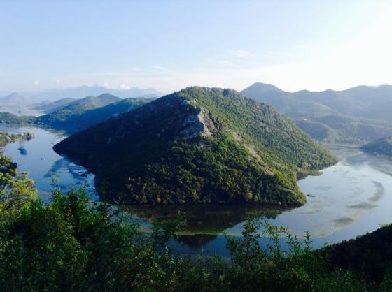 A postcard perfect view