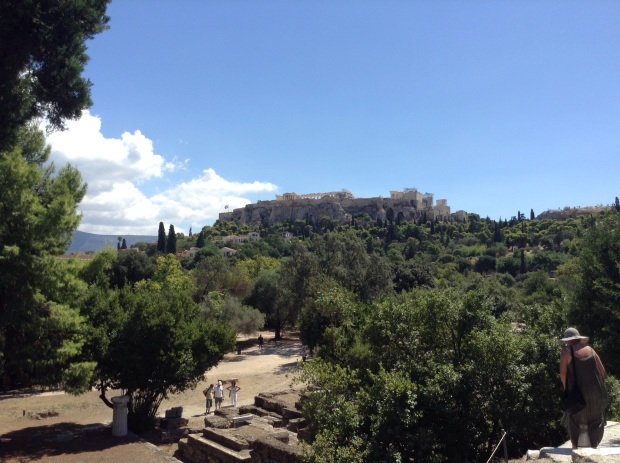 View of the Acropolis from the Ancient Agora