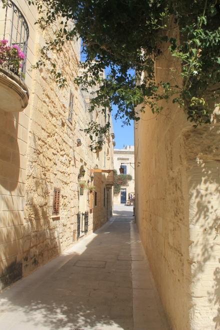 Alleyways in Mdina