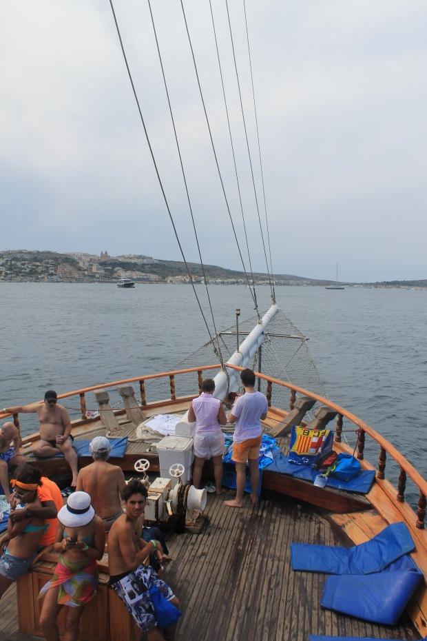 Day cruise to blue lagoon, comino, malta