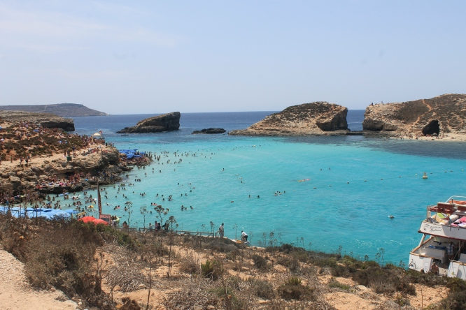 Beach at Blue Lagoon