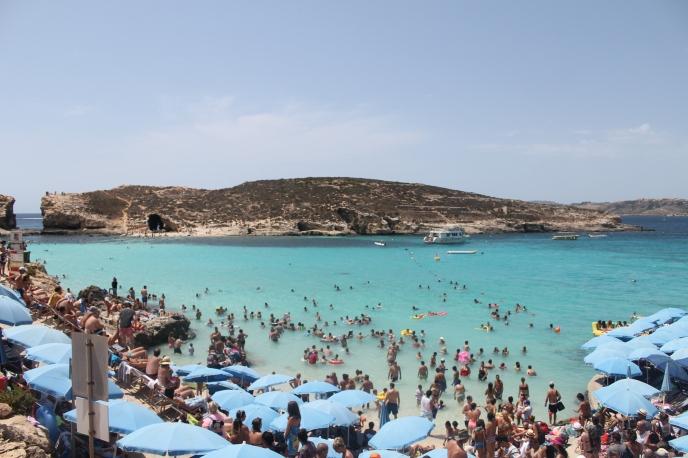 blue lagoon Malta beach