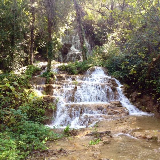 Krka small waterfall