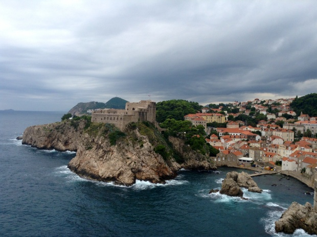 Dubrovnik fortress, now staring in your favourite TV show