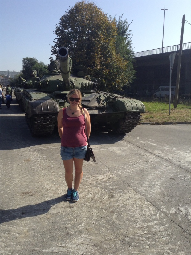 Belgrade tanks