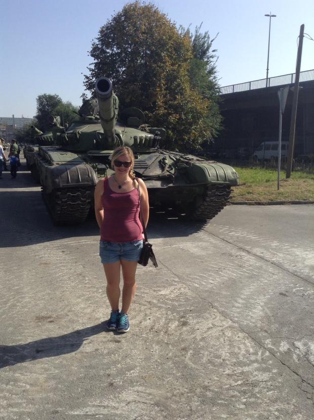 Belgrade tanks