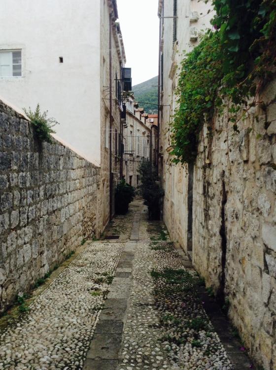 Lots of narrow streets
