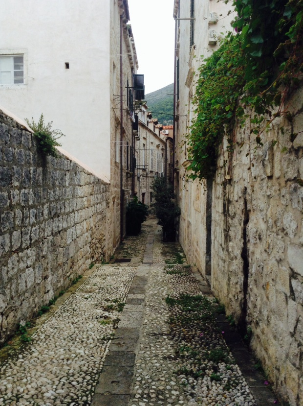Lots of narrow streets