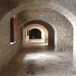 Inside Dubrovnik fortress