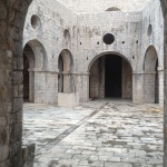 Inside fortress