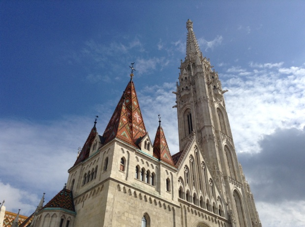 Matthias church in Buda