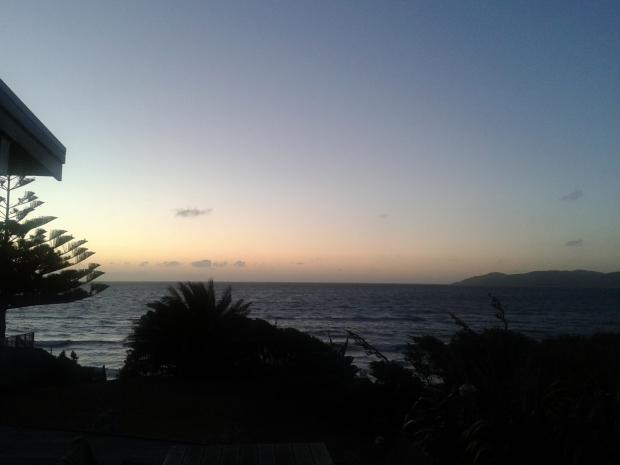 Sunset Raumati beach