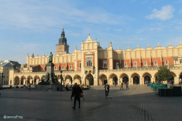 Krakow Main Market square, cloth hall