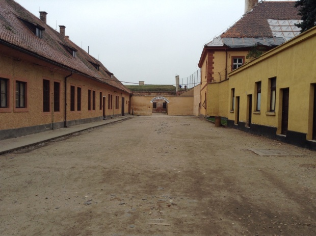 Terezin small fortress building