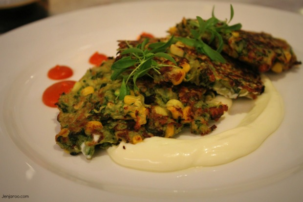sweetcorn fritter