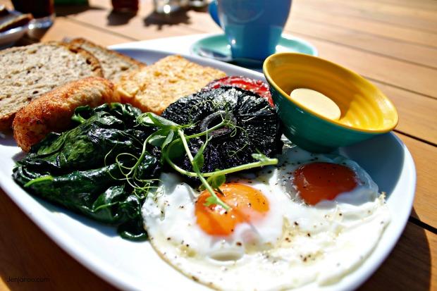 Spruce Goose Vege breakfast