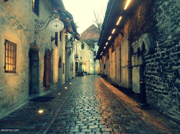 Tallinn Alleyways
