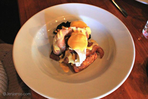Potato Rosti with eggs